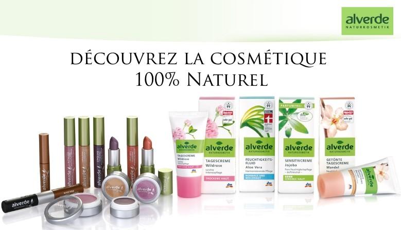 Découvrez Alverde, la cosmétique 100% naturel !